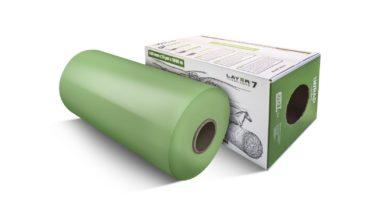 Haylage film green